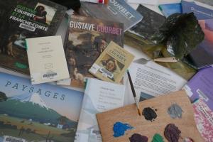 Sélection : Le paysage chez Gustave Courbet | Médiathèque départementale du Doubs