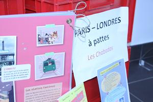 Expo : Paris - London à pattes | Médiathèque départementale du Doubs. Auteur